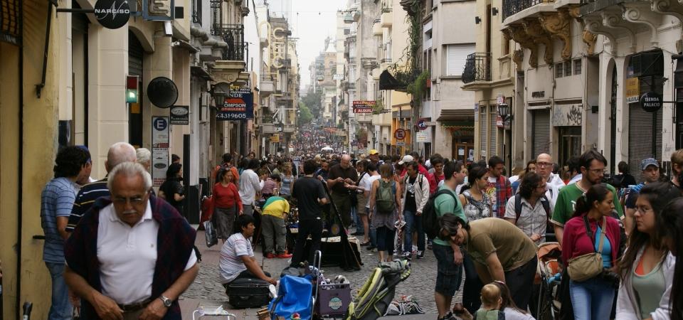 Flea market on Defensa Street – San Telmo, Buenos Aires, Argentina, 16.10.2011